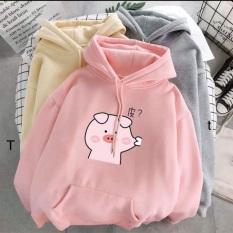 Áo Hoodie Heo bẹo má – Áo hoodie hình dễ thương – Tổng kho sỉ MB