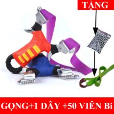 Cây Giữ Dây Thun Cao Su Lưng Gù( kèm 50 Viên bi,thước ngắm,Dây Thun)
