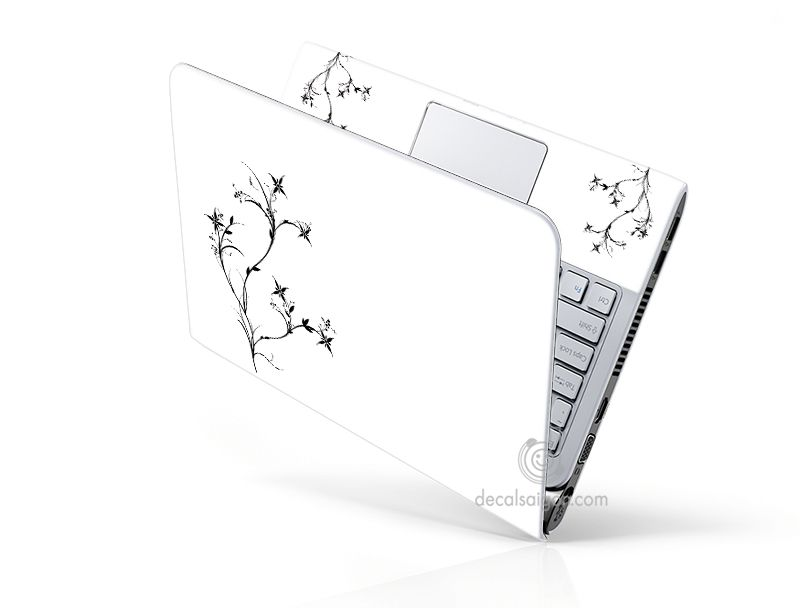 Mẫu Dán Laptop Hoa Văn LTHV - 179