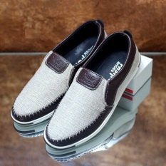 Giày lười mọi nam khâu sườn đơn giản cá tính – Sudoo