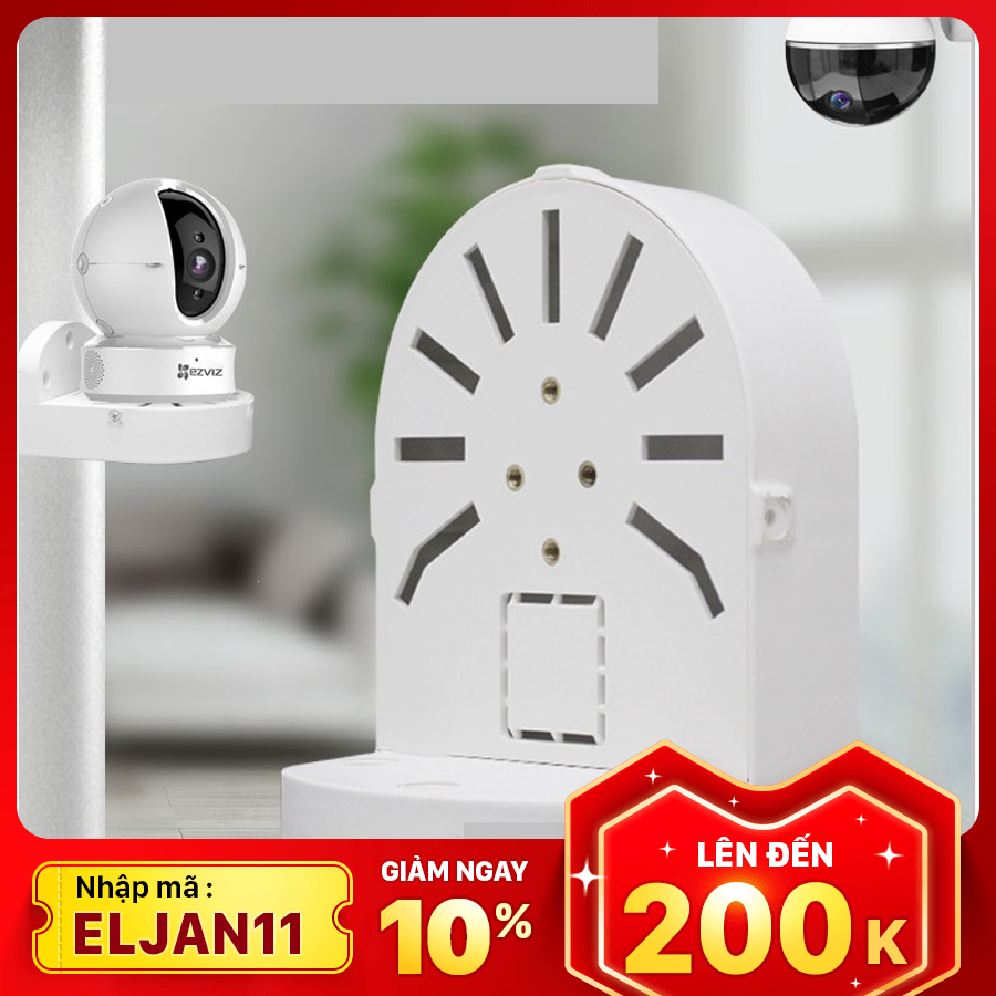 [NHẬP: ELJAN11 – GIẢM THÊM 10% – TỐI ĐA 200K – ĐƠN TỪ 99K] [Mua 3 giảm 10k – Theo dõi shop nhận thêm voucher 5K] Chân Đế Camera IP – Camera Wifi đa năng, gắn tường, trần nhà, nhựa chất lượng cao – Dành riêng cho camera Ezviz, Imou