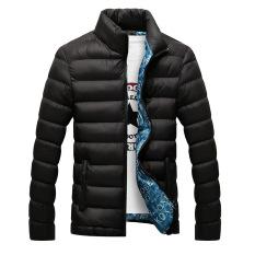 Áo khoác phao nam dáng ngắn cổ đứng mùa đông AKP11