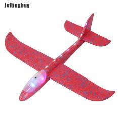 Jettingbuy Máy bay xốp ném tay kích thước 48cm tự làm có đèn (Sản phẩm có nhiều phiên bản lựa chọn, vui lòng chọn đúng sản phẩm cần mua) – INTL