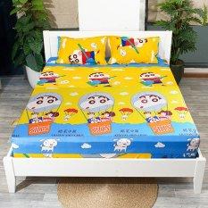 Ga trải giường chống thấm nhiều loại dễ thương ga niệm giường ngủ chống thấm cotton 2 lớp loại tốt 1m6×2m , 1m8 x 2m