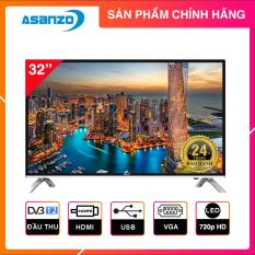 Tivi LED Asanzo 32 inch HD – Model 32T660N (Đen) Tích hợp DVB-T2