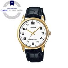 Đồng hồ nam Casio MTP-V001GL-7BUDF dây da chính hãng
