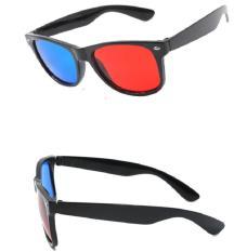 Mắt kính xem phim 3D Tivi, Laptop thường (Red Cyan)