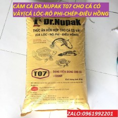 1Kg Cám Cá Dr.Dupak T07 40% Đạm-thức ăn cá-mồi câu cá