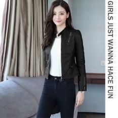 Áo khoác da nữ thái lót dù cao cấp phiên bản Hàn Quốc mới nhất hiện nay