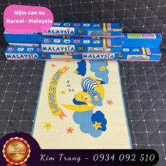 Tấm lót cao su chống thấm Kareal – Malaysia (Nệm thoáng khí cho trẻ sơ sinh)