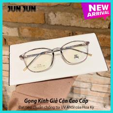 Kèm Hộp – Mắt kính giả cận nam nữ cao cấp gọng dẻo JJBBR292 – Gọng kính cận không độ Hàn Quốc