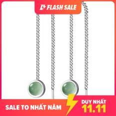 Bông tai bạc đẹp cho nữ S925 Italy B2447 Bảo Ngọc Jewelry