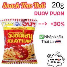 Snack tôm Ruay Puan Thái Lan gói 20g