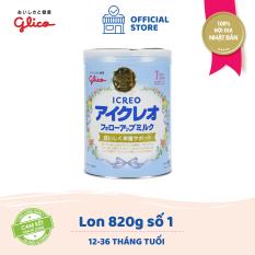 [TẶNG BÌNH NƯỚC BEDDY BEAR 400K – ĐƠN 1599K] Sữa Glico Icreo Follow up Milk số 1 820g dành cho trẻ từ 9 – 36 tháng – 100% nội địa Nhật Bản – HSD tối thiểu 10 tháng