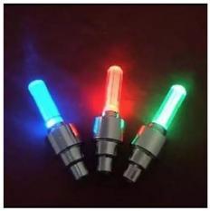 Bộ 2 Đèn LED gắn van đổi màu cho bánh xe máy ô tô 206131-2B