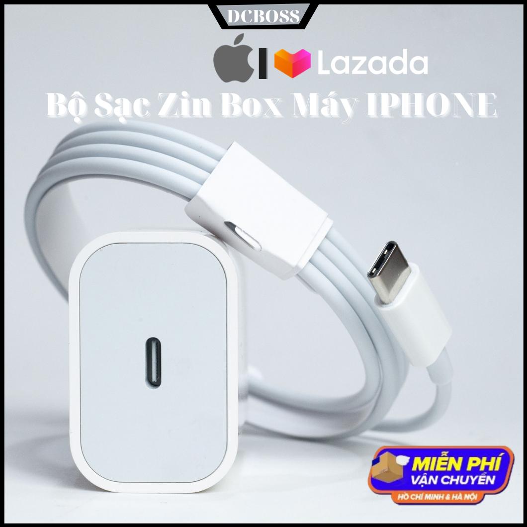 Bộ Sạc 20W Iphone 12 Pro Mới Nhất, Bộ Sạc Iphone Dùng Cho Các Máy Iphone 6 đến Iphone 12 Pro Max, Dòng Sạc Nhanh, Bảo Hành 6 Tháng Đổi Mới. Dcboss