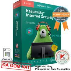 Phần mềm Kaspersky Internet Security KIS 1PC box phân phối bởi Nam Trường Sơn, bảo mật cao cấp, 1 máy tính hoặc mobile (Màu xanh lá đỏ – Green and Red)