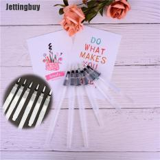 Jettingbuy Bộ 6 Vỏ Bút Vẽ Màu Nước Có Thể Đổ Đầy Lại, Bút Vẽ Màu Nước N1