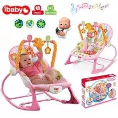 Ghế rung nhún IBaby Rocker – Tiibaby rocker có nhạc dành cho bé từ 0 – 36 tháng