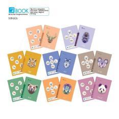 Bộ 10 cuốn tập 96 trang Polygonal Animal MH606