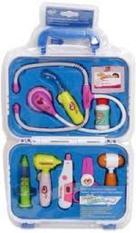 Đồ chơi nhập vai cho bé thành bác sĩ khám bệnh dùng pin có đèn cao cấp, Do choi nhap vai cho be thanh bac si kham benh dung pin co den cao cap (kèm pin)