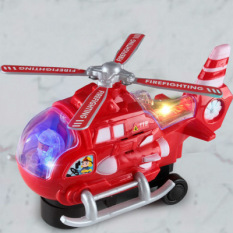 Đồ chơi máy bay trực thăng chạy pin có âm thanh và ánh sáng di chuyển linh hoạt cực hay cho bé yêu