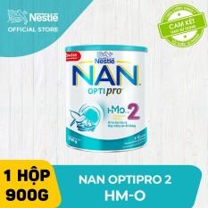 Sữa bột Nestle NAN OPTIPRO 2 HM-O 900g cho trẻ từ 6-12 tháng tuổi giúp trẻ dễ tiêu hóa tăng cường sức đề kháng và tăng cân khỏe mạnh