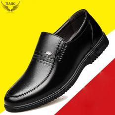 giày nam trung niên da bò