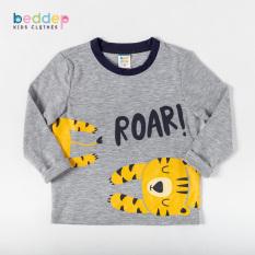Áo thun dài tay Beddep Kids Clothes cho bé trai từ 1 đến 8 tuổi B04