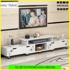 Tủ, Kệ Tivi bàn trà phong cách hiện đại đơn giản cho phòng cách căn hộ nhỏ