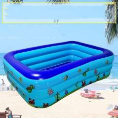 Bể Bơi Phao 3 Tầng Cho Bé Tập Bơi Size To 210x145x65cm – Mẫu Mới GR001 – Chính Hãng Guross