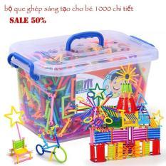 Đồ chơi thông minh cho bé 3 tuổi, Đồ trẻ em, Bộ ghép que sáng tạo cho bé,Giúp bé Thoải Mái vui chơi Và Phát triển Kích thích tính tư duy sáng tạo.An Toàn Và chất lượng,Sale 50%