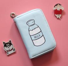 Ví mini cầm tay hoạ tiết bình sữa