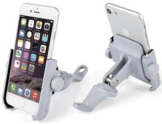 Giá đỡ điện thoại gắn trên xe máy bằng hợp kim, kẹp điện thoại xe máy chắc chắn, chống rung, chống giựt, phụ kiện xe máy, đồ phượt giá rẻ