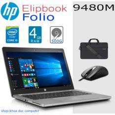 Laptop HP Elipbook Folio 9480M Core i5-4300U/4gb RAM/ 500gb HDD/14inch nhôm toàn thân