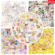 Sticker dán sổ, set 100 sticker hoạt hình trang trí nhiều chủ để xinh xắn cho bé yêu BBShine – ST015