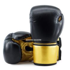 Găng tay Tigris Mexican PU Leather – Đen/Vàng