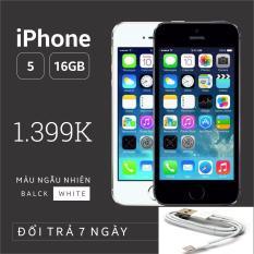 Điện thoại IPHONE 5-16GB Phiên bản quốc tế – Bao đổi trả – Màu ngẫu nhiên – SIÊU UY TÍN