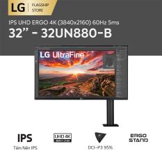 [TRẢ GÓP 0%] Màn hình máy tính LG IPS UHD ERGO 4K (3840×2160) 60Hz 5ms 32 inches l 32UN880-B HÀNG CHÍNH HÃNG