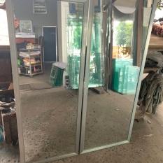 Gương soi toàn thân Size lớn (viền nhôm bạc)bảo hành 119cm-47cm