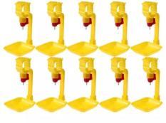 Combo 10 bộ Máng và núm uống tự động cho gà V1