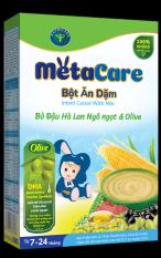 Bột ăn dặm Metacare – Bò đậu hà lan ngô ngọt & Olive (200g)