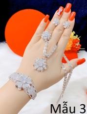 Bộ trang sức tinh xảo sang trọng thời thượng Trang Sức Kado B4180616 – đeo đi đám cưới vô cùng quý phái