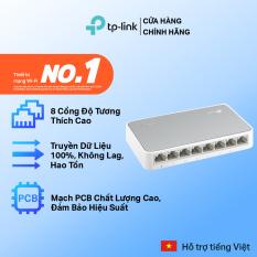 Bộ Chia Tín Hiệu TP-Link TL-SF1008D Switch Để Bàn 8 Cổng 10/100Mbps – Hãng phân phối chính thức