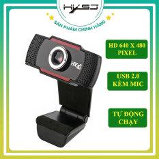 Webcam máy tính HXSJ S20 (↓GIẢM GIÁ CỰC SỐC↓) Webcam pc laptop học online, trực tuyến , Webcam HD tích hợp Mic truyền tải âm thanh trung thực, hình ảnh sắc nét – Hàng Chính Hãng