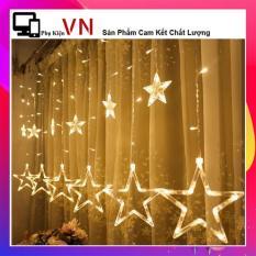 ⚡ Siêu Xinh ⚡ Đèn Rèm Ngôi Sao Nhấp Nháy – Đèn Trang Trí – Dây Đèn Led Lấp Lánh Đêm Noel
