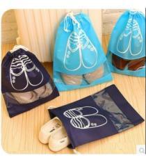 [Combo 5] Túi Đựng Giày Chống Bụi Kiểu Dây Rút Thông Minh Tiện Dụng