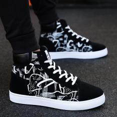 Giày nam cao cổ họa tiết thời trang GY311