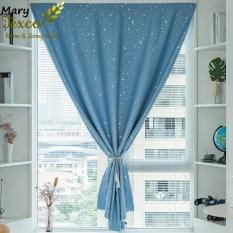 Rèm dán Mary Texco 1 lớp trời sao cản sáng đến 95%, không cần đóng đinh, khoan tường trang trí cửa sổ, tủ bếp, dễ dàng sử dụng – RS03
