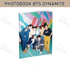Photobook BTS DYNAMITE – Chất Liệu Giấy Bóng, Hình Ảnh Sắc Nét – Gồm 32 Trang